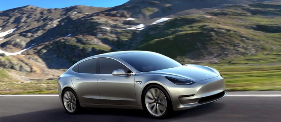 Tesla Model 3 – En tredje elbil från Tesla Motors
