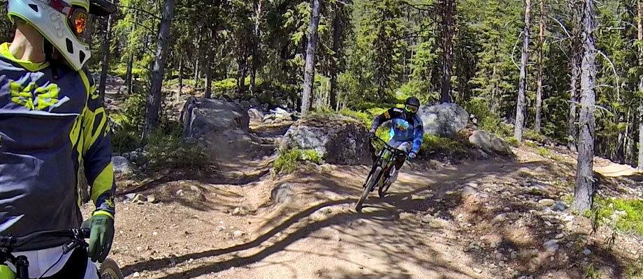 Järvsö bergcykel park – Heldag med adrenalin och god mat